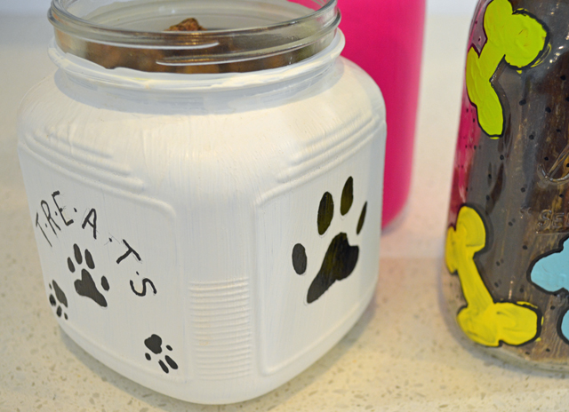 Painted Dog Treat Jars_03
