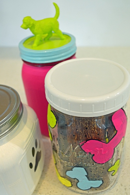 Painted Dog Treat Jars_04
